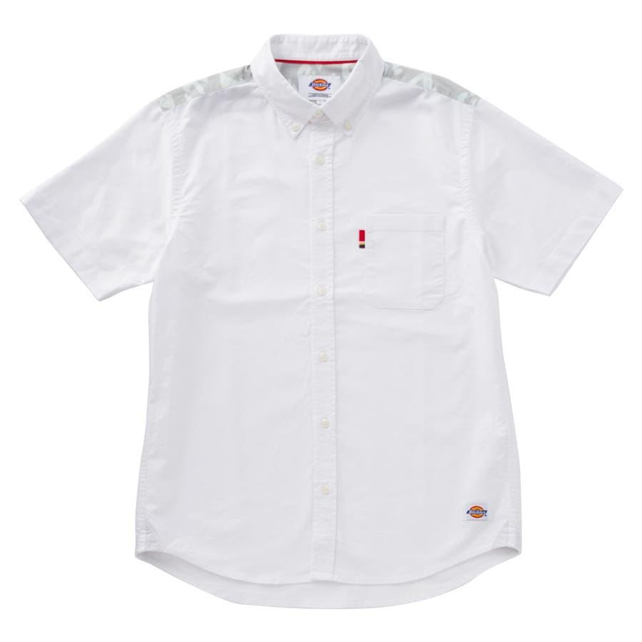 フィット感がいい メンズファッション通販オックスコンビボタンダウンシャツ 培植