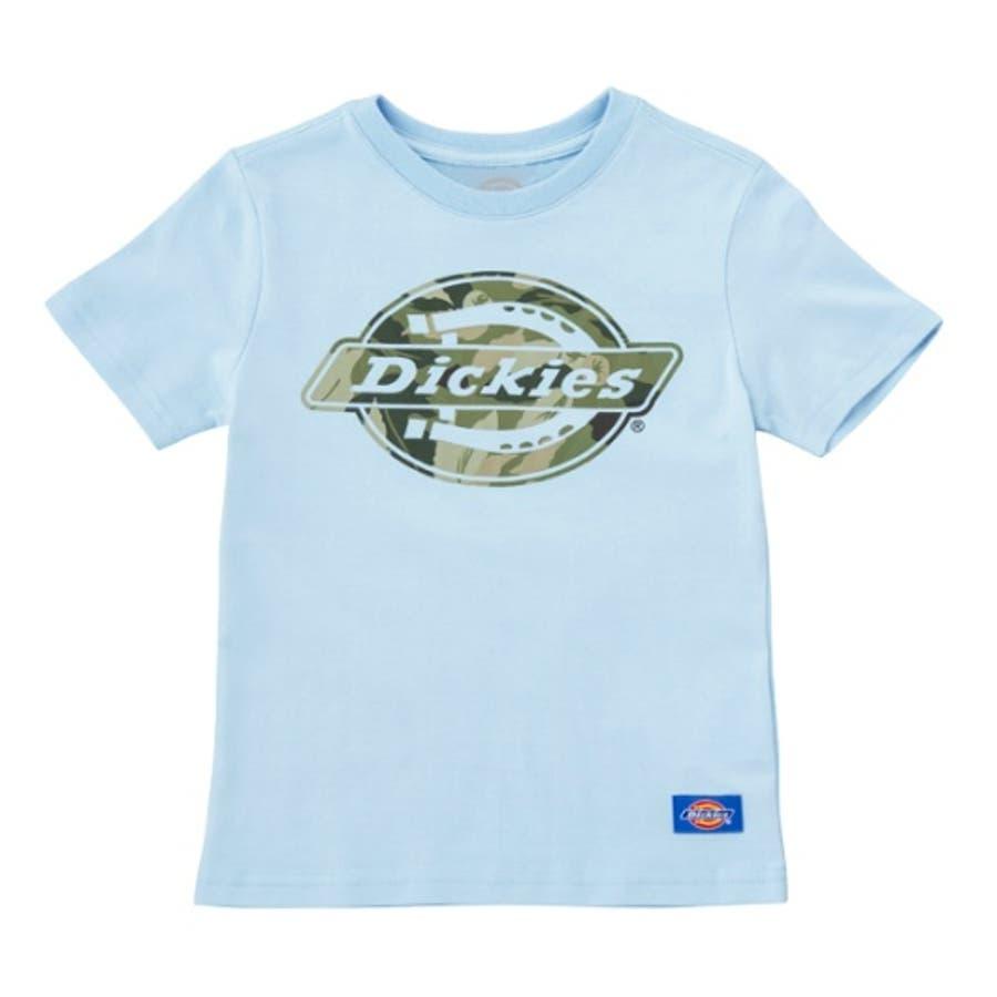 今抑えておきたいコーデ メンズファッション通販 キッズ リーフ柄抜きロゴプリントTシャツ 傲然