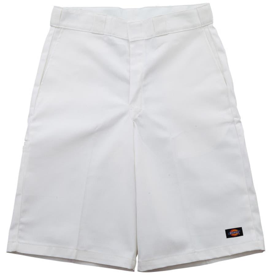 簡単に着こなせる メンズファッション通販42283セルフォンポケットワークショーツホワイト Dickies公式ストア ディッキーズ RCP 20P09Jan16 剛性