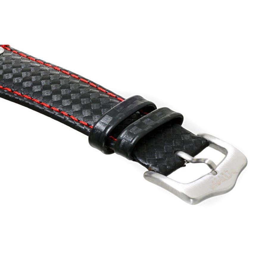 INTIMES インタイムス ステンレス・ケース/本革レザー・ベルト メンズ/レディース 腕時計 IT1066L 4