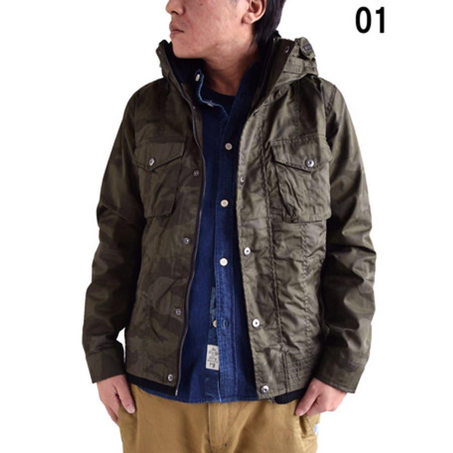 王道キレイめスタイル メンズファッション通販ミリタリージャケット メンズ アウター T Cポプリン 裏ボア M-65 ボリュームネック カモフラプリント メンズファッションジャンパー ブルゾン コーデ 合格
