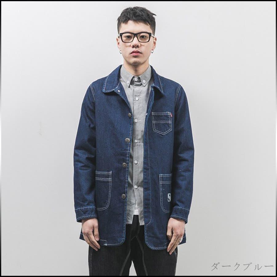 ついついヘビロテ メンズファッション通販デニムジャケット メンズ アウター ジャケット カジュアル コーデ ライトアウター メンズファッション ジャンパー ブルゾン 豪語