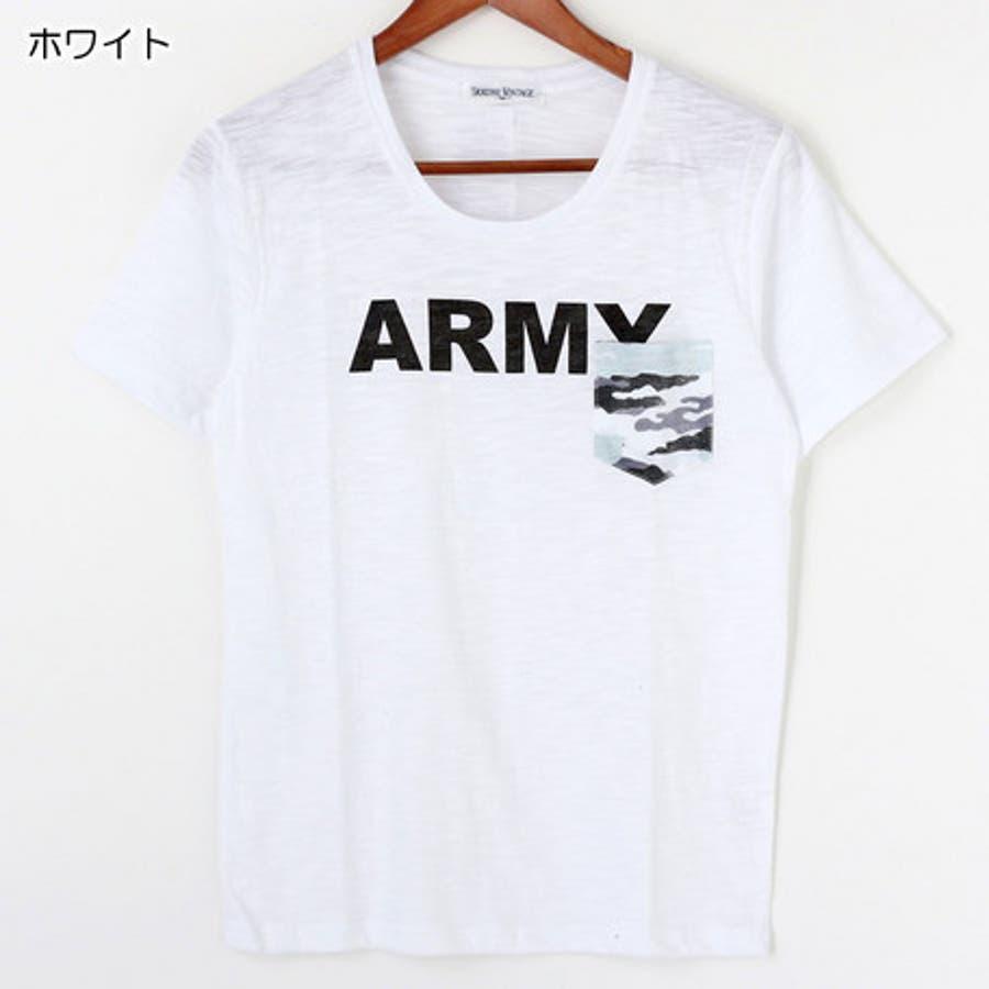 何枚あってもいい! メンズファッション通販Tシャツ メンズ トップス スラブ ポケット付 クルーネック メンズファッション 半袖 激烈