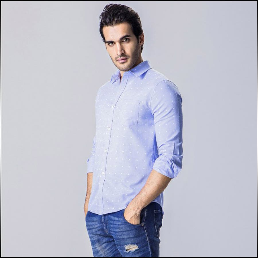 さらっと着れてとてもよい カジュアルシャツ メンズ トップス シャツ 長袖 プリント 総柄 星柄 スタープリント インナー きれいめ カジュアル コーデメンズファッション 抜去