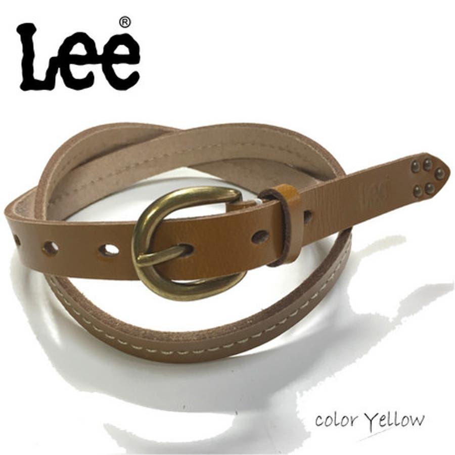 ベルト レディース ファッション雑貨 Lee 20mm幅 女性用 ファッション コーデ 3