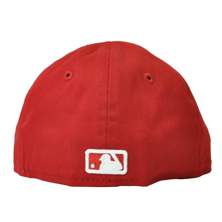 NEW ERA ニューエラ キッズ Kid's My 1st 59FIFTY ニューヨーク・ヤンキース スカーレット ×スノーホワイト [11225743] newera キャップ レディース メンズ CAP 帽子 NEWERA 4