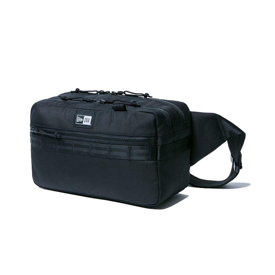 ニューエラ バッグ ◆ スクエア ウェストバッグ ブラック 11556601 メンズ BAG カバン BAG ウエスト 旅行 通勤通学おしゃれ NEWERA 22