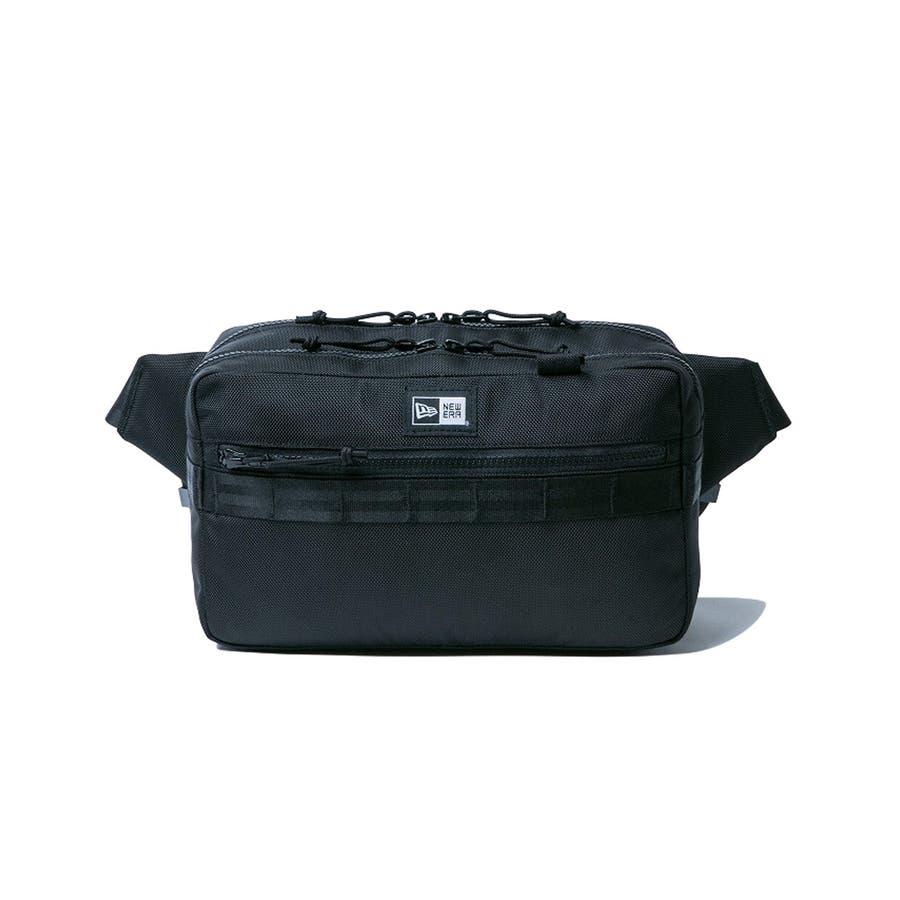 ニューエラ バッグ ◆ スクエア ウェストバッグ ブラック 11556601 メンズ BAG カバン BAG ウエスト 旅行 通勤通学おしゃれ NEWERA 2
