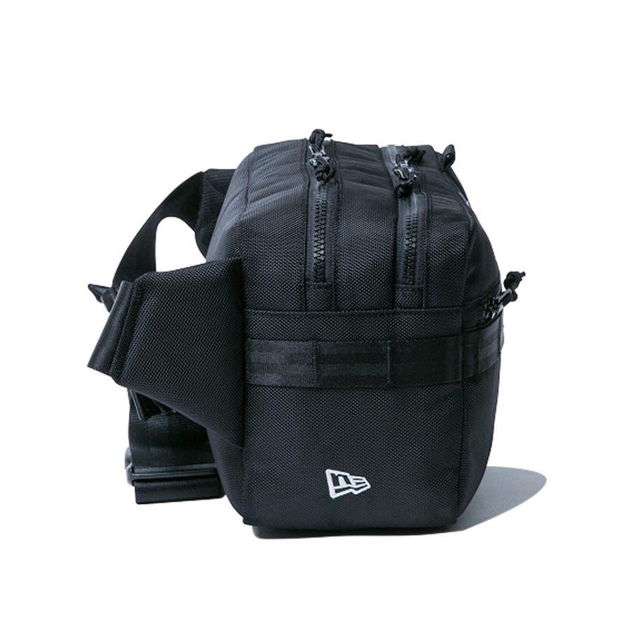 ニューエラ バッグ ◆ スクエア ウェストバッグ ブラック 11556601 メンズ BAG カバン BAG ウエスト 旅行 通勤通学おしゃれ NEWERA 3