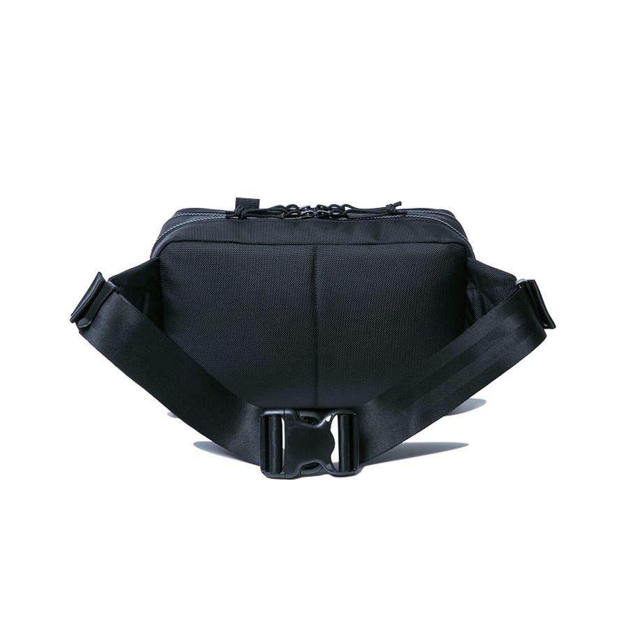 ニューエラ バッグ ◆ スクエア ウェストバッグ ブラック 11556601 メンズ BAG カバン BAG ウエスト 旅行 通勤通学おしゃれ NEWERA 4