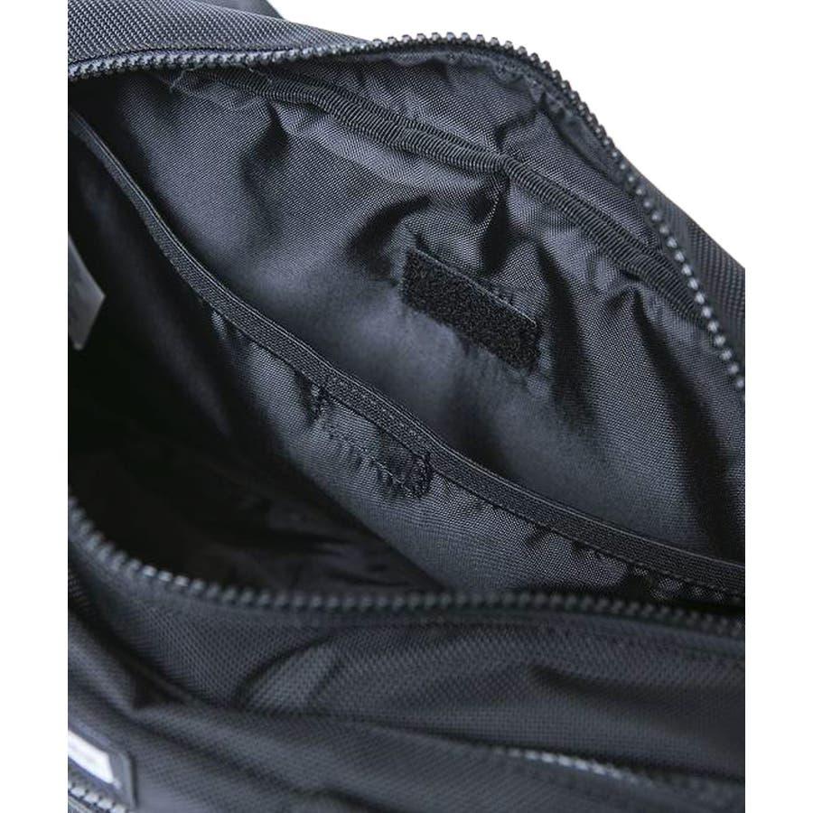 ニューエラ バッグ ◆ スクエア ウェストバッグ ブラック 11556601 メンズ BAG カバン BAG ウエスト 旅行 通勤通学おしゃれ NEWERA 5