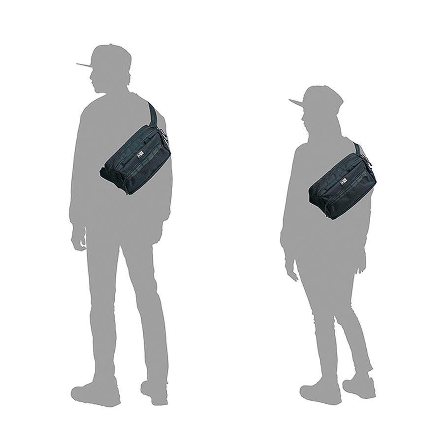 ニューエラ バッグ ◆ スクエア ウェストバッグ ブラック 11556601 メンズ BAG カバン BAG ウエスト 旅行 通勤通学おしゃれ NEWERA 7