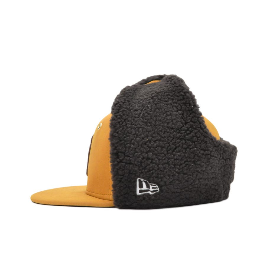 Kid's 59FIFTY Dog Ear シンセティック ヌバック ニューヨーク・ヤンキース / イエローヌバック × ブラウン[12108594] 3