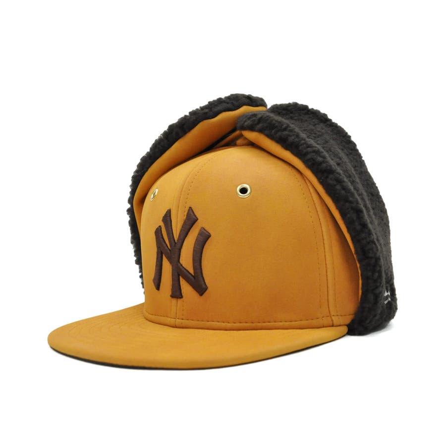 Kid's 59FIFTY Dog Ear シンセティック ヌバック ニューヨーク・ヤンキース / イエローヌバック × ブラウン[12108594] 86