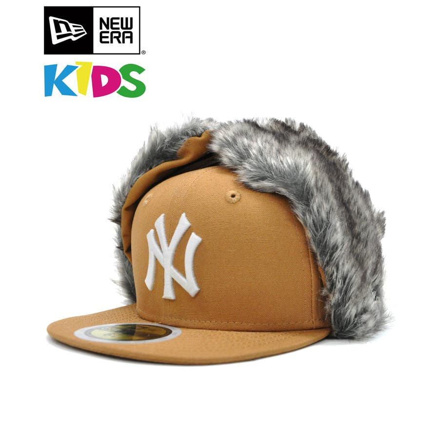 Kid's 59FIFTY Dog Ear ニューヨーク・ヤンキース / ダックタン × スノーホワイト [12108596] 1