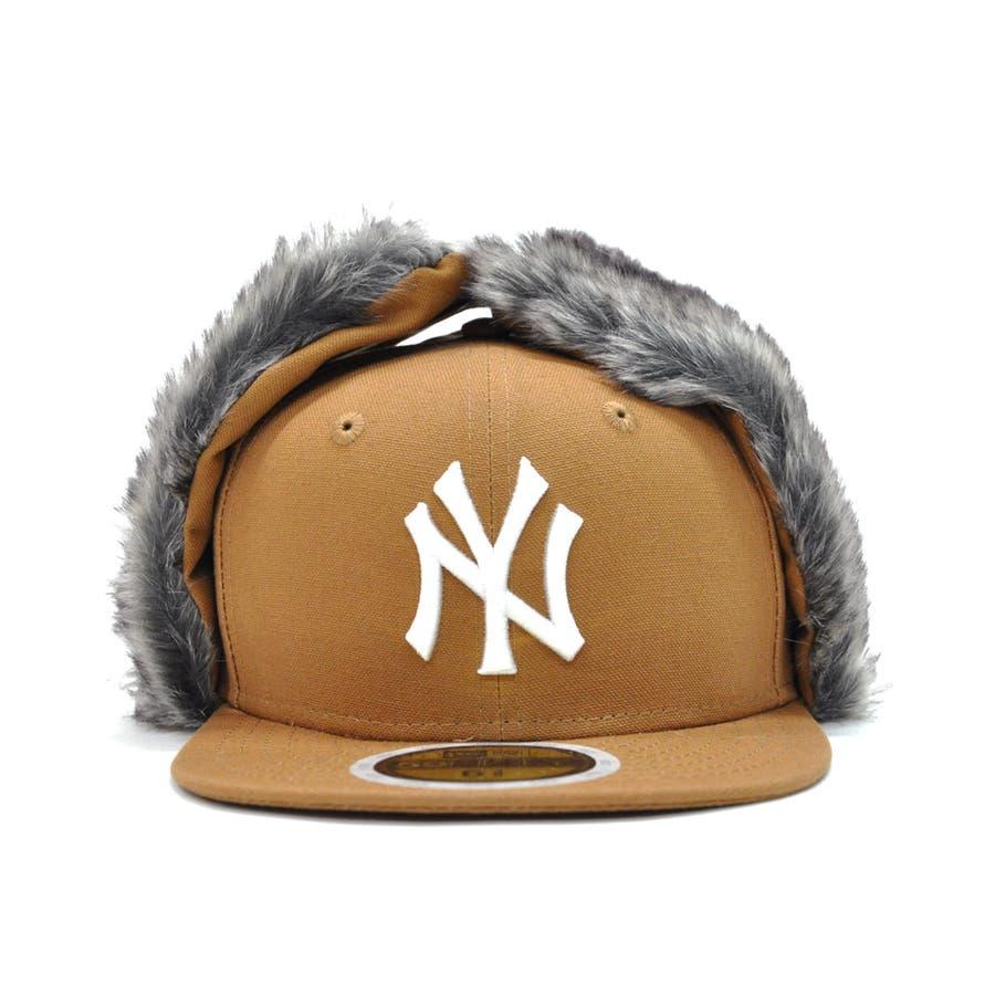 Kid's 59FIFTY Dog Ear ニューヨーク・ヤンキース / ダックタン × スノーホワイト [12108596] 2