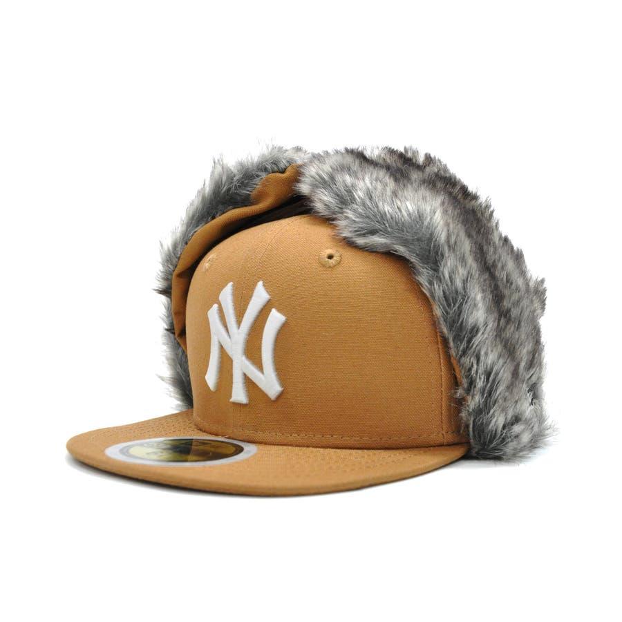 Kid's 59FIFTY Dog Ear ニューヨーク・ヤンキース / ダックタン × スノーホワイト [12108596] 40