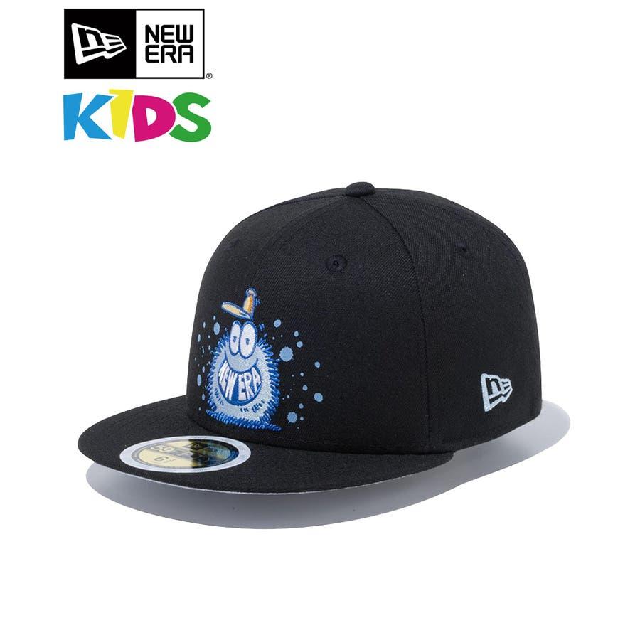 Kid's 59FIFTY Kevin Lyons ケヴィン・ライオンズ NEW ERA オリジナルロゴ / ブラック[12362092] ニューエラ キャップ メンズ レディース CAP 男の子 女の子 1