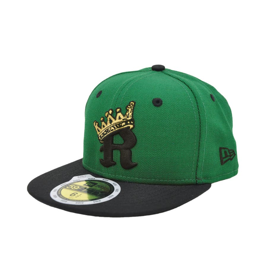 [OUTLET] Kid's Youth 59FIFTY R-CROWN / ケリー × ブラック [11172343] 22