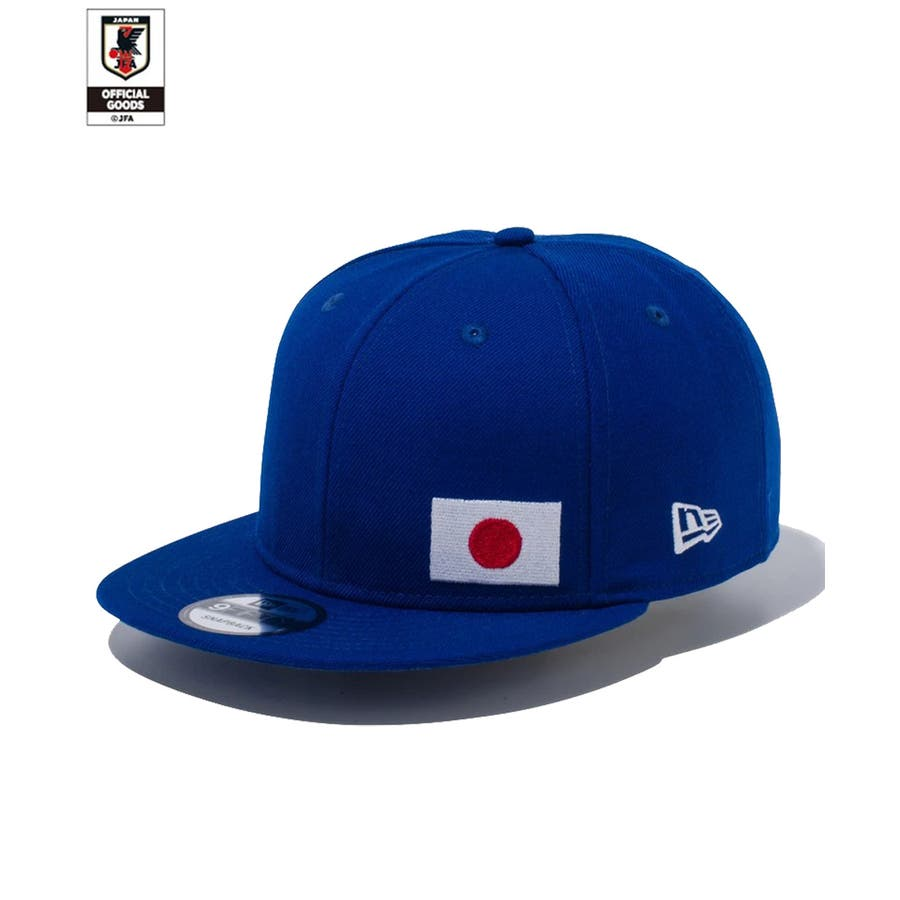 9FIFTY サッカー日本代表 Ver. / ブルー [12350339] ニューエラ キャップ メンズ レディース CAP 男の子女の子 2