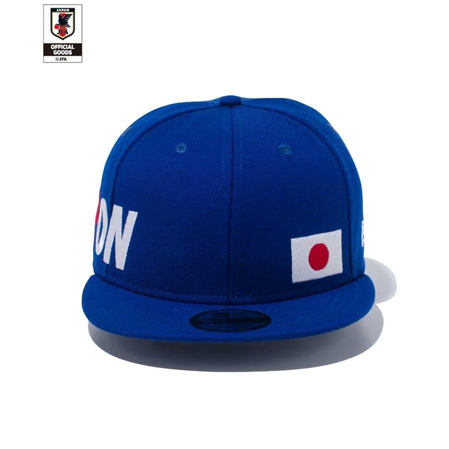 9FIFTY サッカー日本代表 Ver. / ブルー [12350339] ニューエラ キャップ メンズ レディース CAP 男の子女の子 3