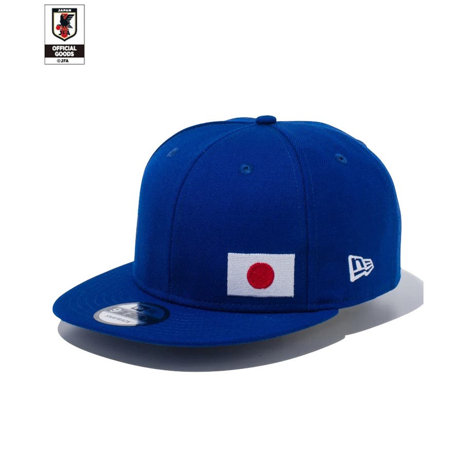 9FIFTY サッカー日本代表 Ver. / ブルー [12350340] ニューエラ キャップ メンズ レディース CAP 男の子女の子 2