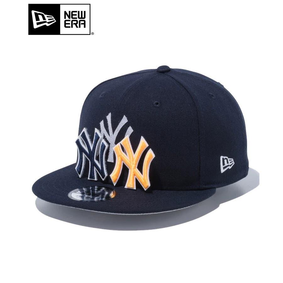 9FIFTY チェンジャブル バッジ ニューヨーク・ヤンキース / ネイビー [12514638] ニューエラ キャップ メンズレディース CAP 男の子 女の子 1