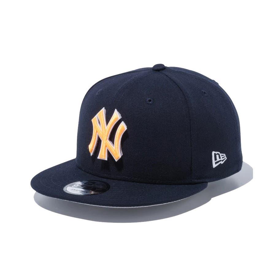 9FIFTY チェンジャブル バッジ ニューヨーク・ヤンキース / ネイビー [12514638] ニューエラ キャップ メンズレディース CAP 男の子 女の子 2