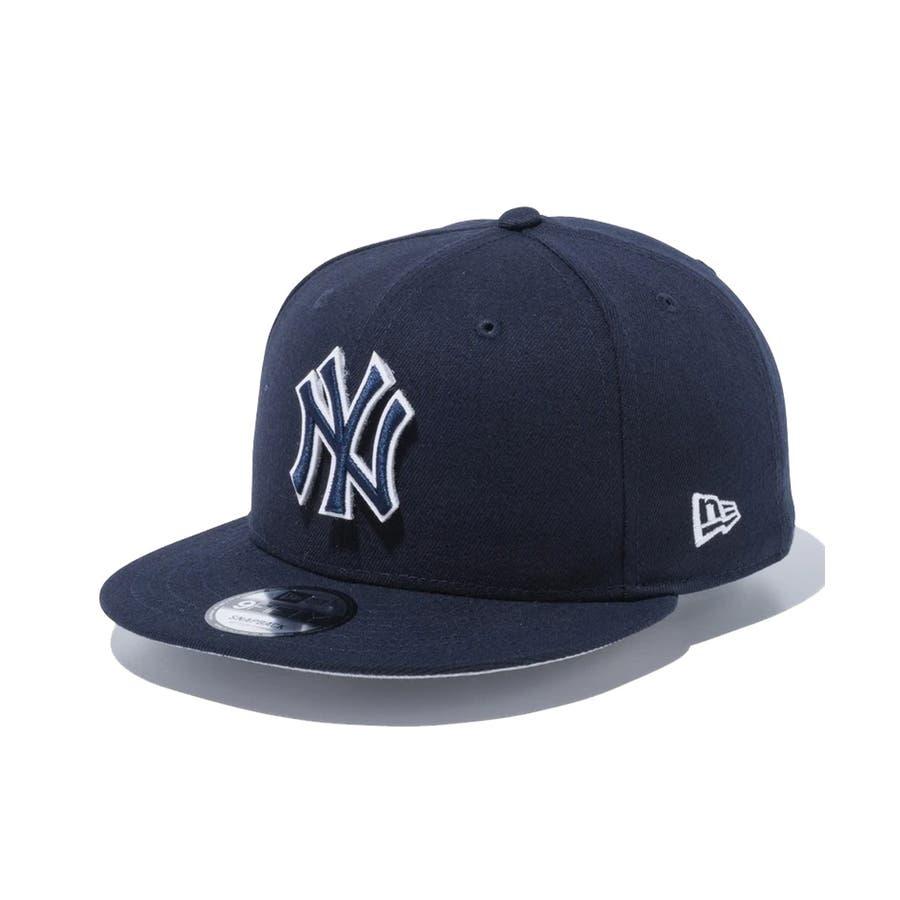 9FIFTY チェンジャブル バッジ ニューヨーク・ヤンキース / ネイビー [12514638] ニューエラ キャップ メンズレディース CAP 男の子 女の子 3