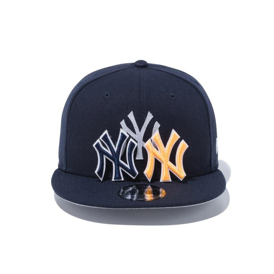 9FIFTY チェンジャブル バッジ ニューヨーク・ヤンキース / ネイビー [12514638] ニューエラ キャップ メンズレディース CAP 男の子 女の子 4