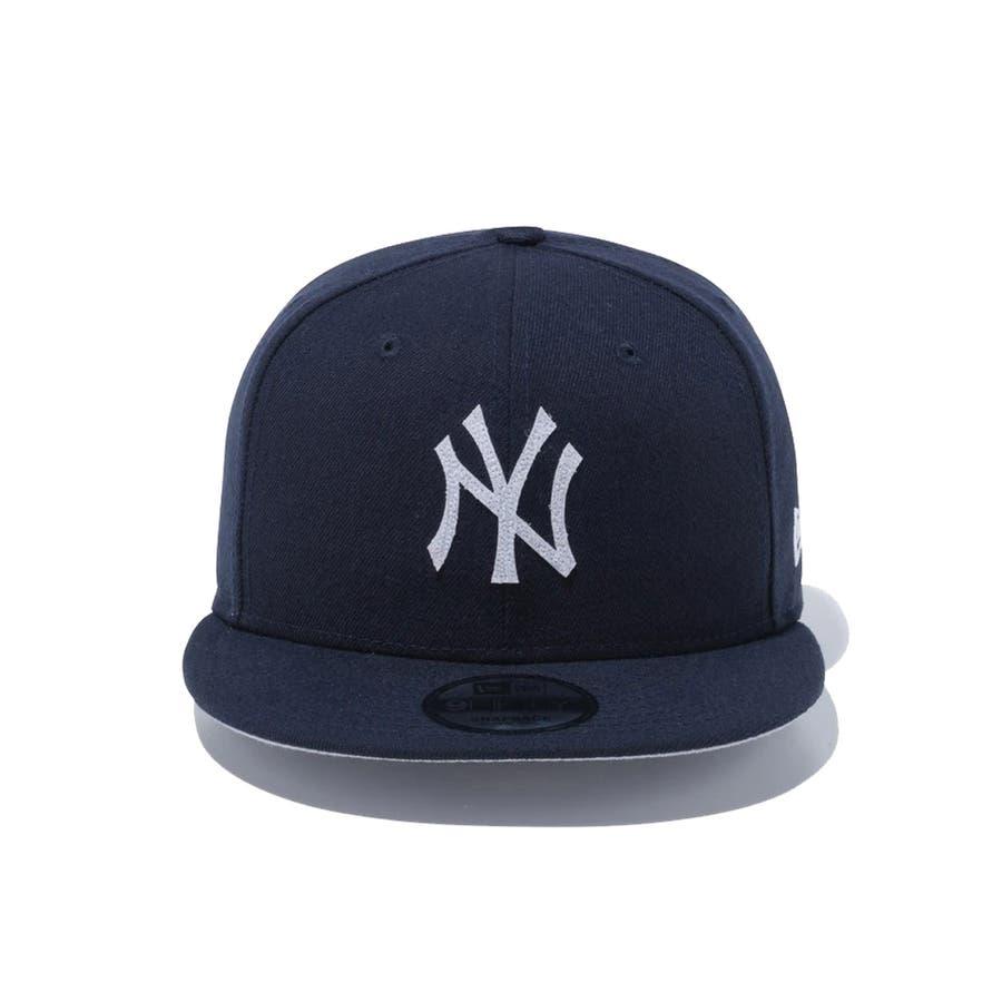 9FIFTY チェンジャブル バッジ ニューヨーク・ヤンキース / ネイビー [12514638] ニューエラ キャップ メンズレディース CAP 男の子 女の子 5