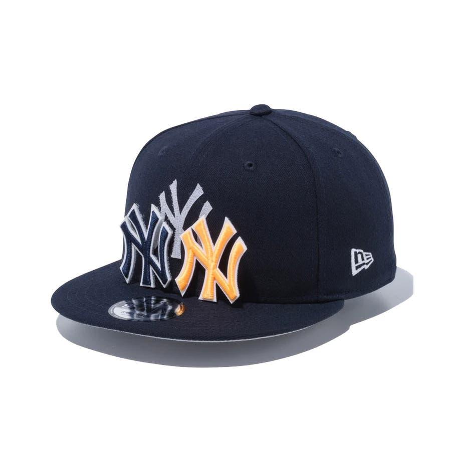 9FIFTY チェンジャブル バッジ ニューヨーク・ヤンキース / ネイビー [12514638] ニューエラ キャップ メンズレディース CAP 男の子 女の子 64