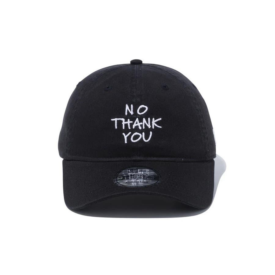 9THIRTY メッセージ NO THANK YOU / ブラック [12556454] 2