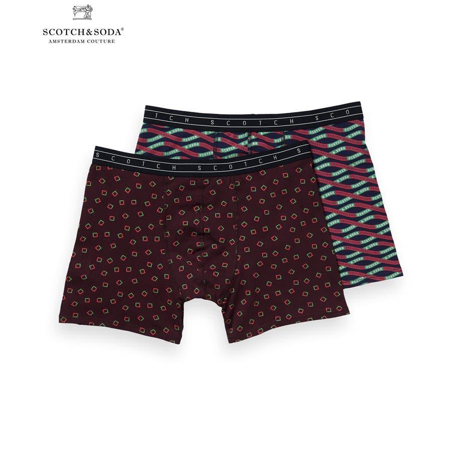 2-Pack Patterned Boxer Shorts (2ペア1セット) / コンボC [292-19900-I] 1