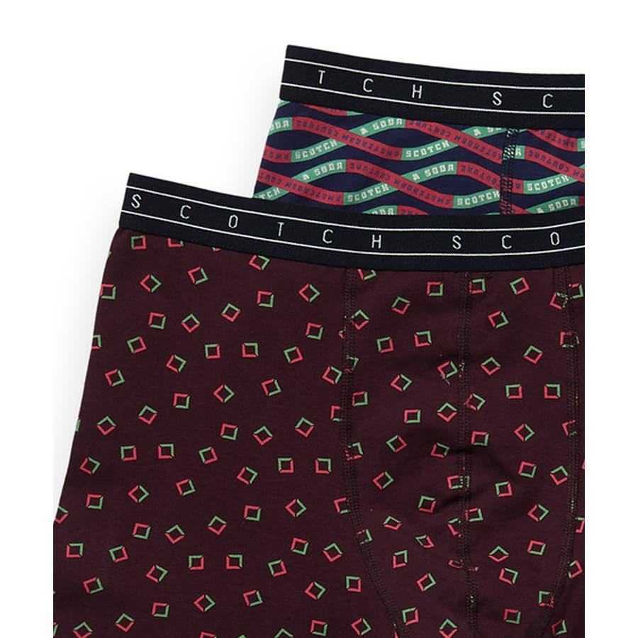 2-Pack Patterned Boxer Shorts (2ペア1セット) / コンボC [292-19900-I] 2