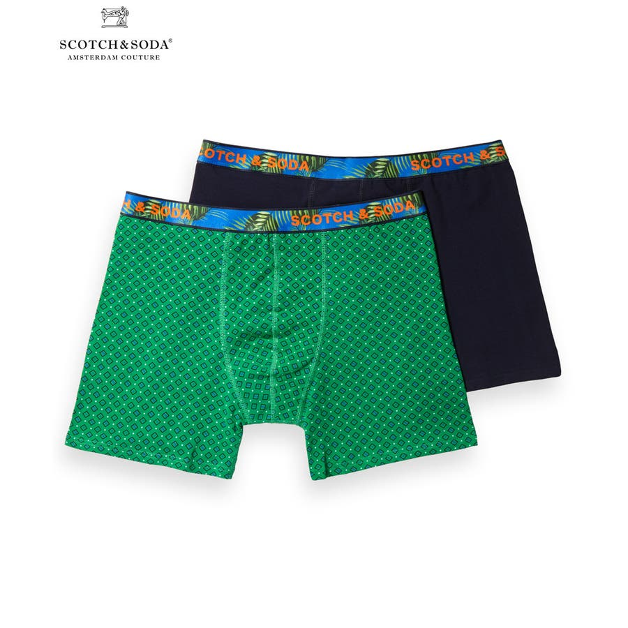 2-Pack Patterned Boxer Shorts (2ペア1セット) / コンボB [292-19909-I] 1
