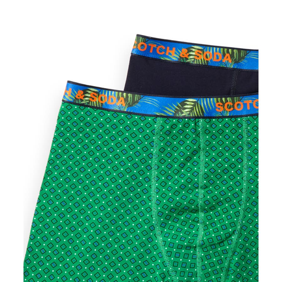 2-Pack Patterned Boxer Shorts (2ペア1セット) / コンボB [292-19909-I] 2