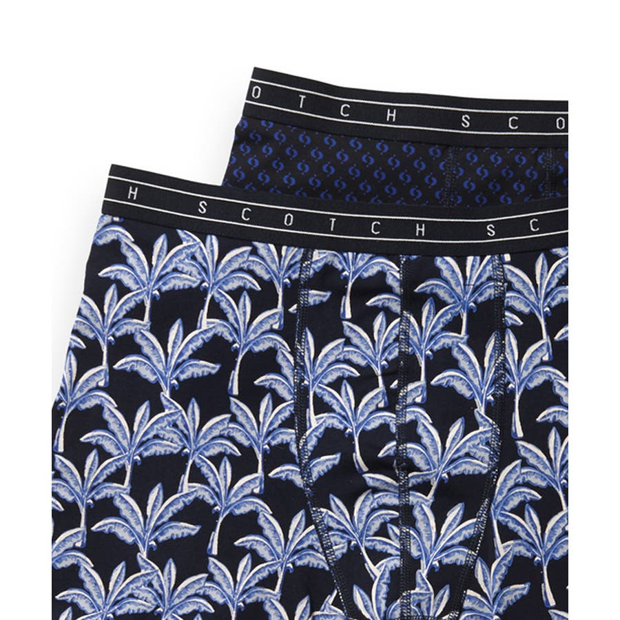 2-Pack Patterned Boxer Shorts (2ペア1セット) / コンボA [292-19910-I] 2