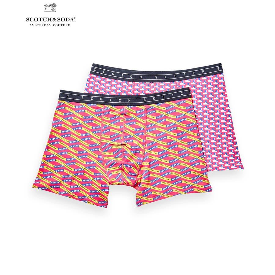 2-Pack Patterned Boxer Shorts (2ペア1セット) / コンボA [292-19900-I] 1