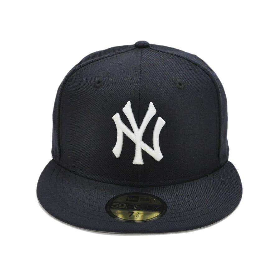 59FIFTY オールド オーセンティック カスタム ニューヨーク・ヤンキース / ネイビー × ホワイト [11389640] 2