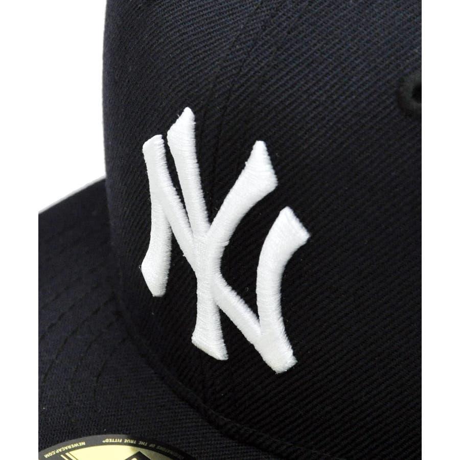 59FIFTY オールド オーセンティック カスタム ニューヨーク・ヤンキース / ネイビー × ホワイト [11389640] 5