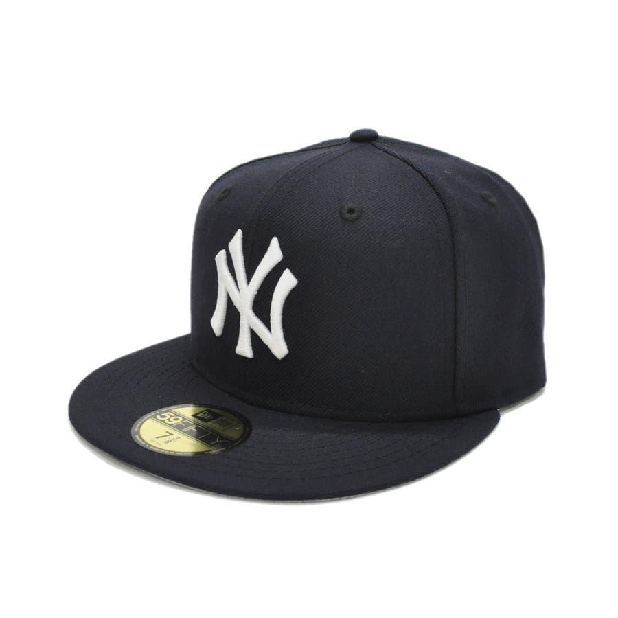 59FIFTY オールド オーセンティック カスタム ニューヨーク・ヤンキース / ネイビー × ホワイト [11389640] 64