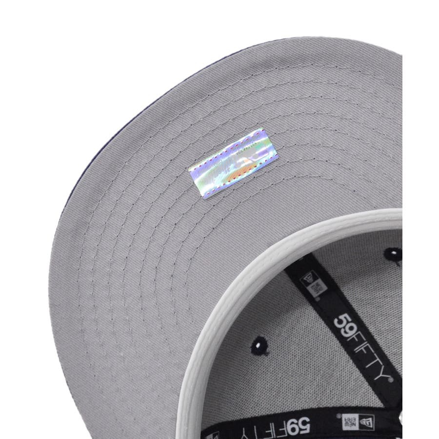 59FIFTY オールド オーセンティック カスタム ロサンゼルス・ドジャース / ダークロイヤル × ホワイト [11553609] 7