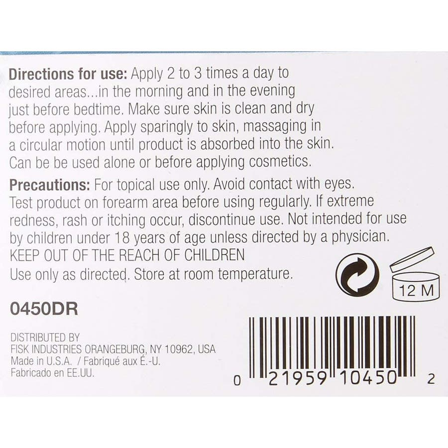 DR ネック・アンド・デコルテージ・クリーム 45mL 首のケア Neck and Decolletage Cream 1.5 Oz0450DR New York 3