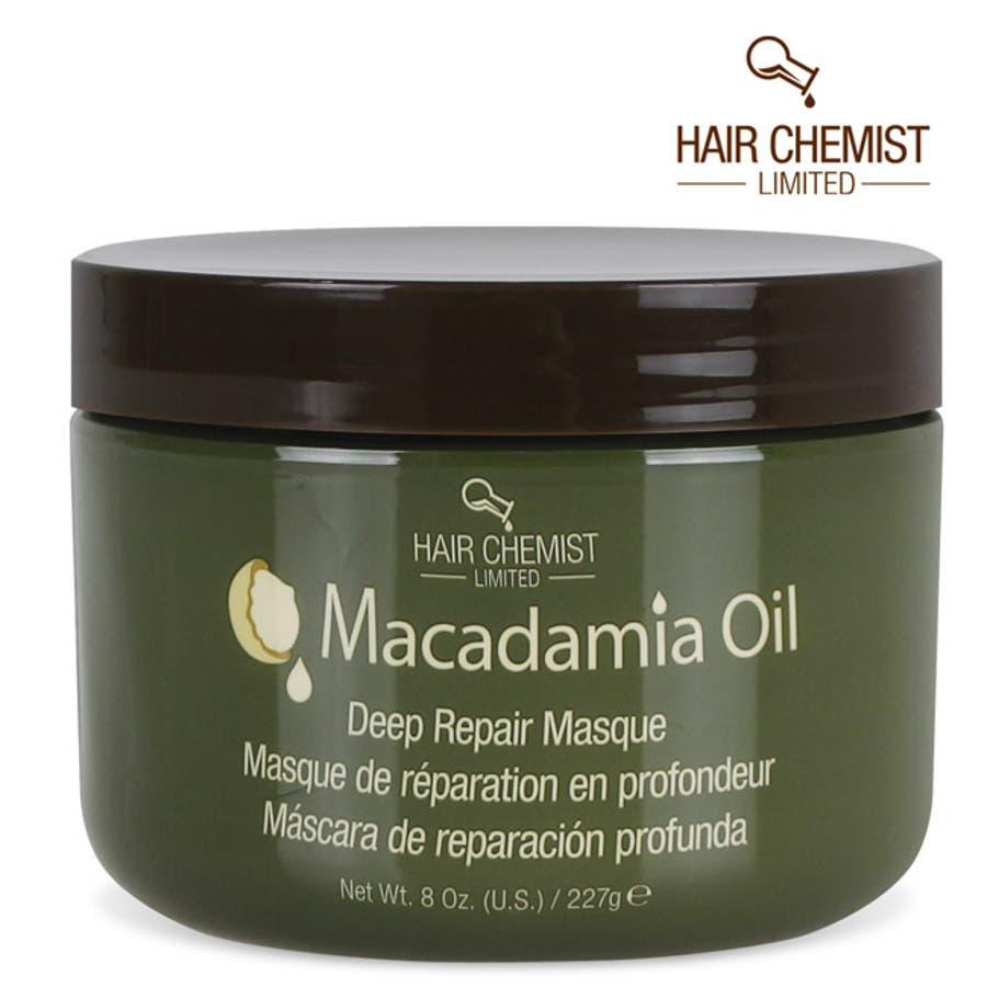 ヘアマスク マカダミア オイル ディープリペアマスク 227g HAIR CHEMIST Macadamia Oil DeepRepair Mask 1434 New York 1