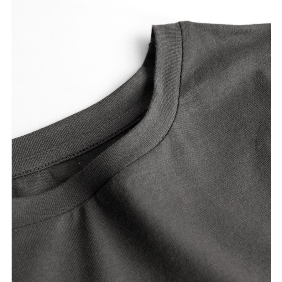 Hunch(ハンチ):コットン天竺 ティアード刺繍レース ノースリーブプルオーバー 9
