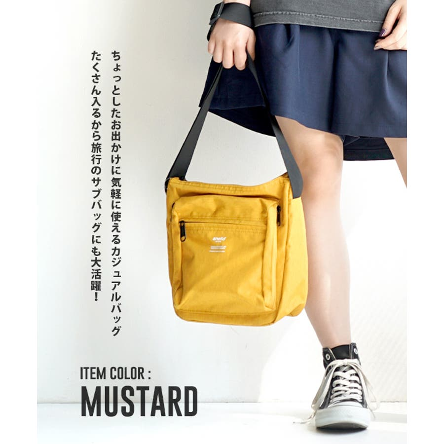 anello(アネロ):TRACK SHOULDER BAG 5