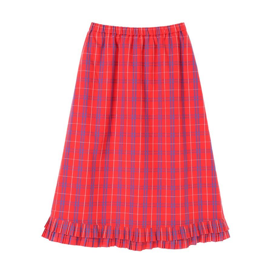 プリーツヘムAラインスカート 94