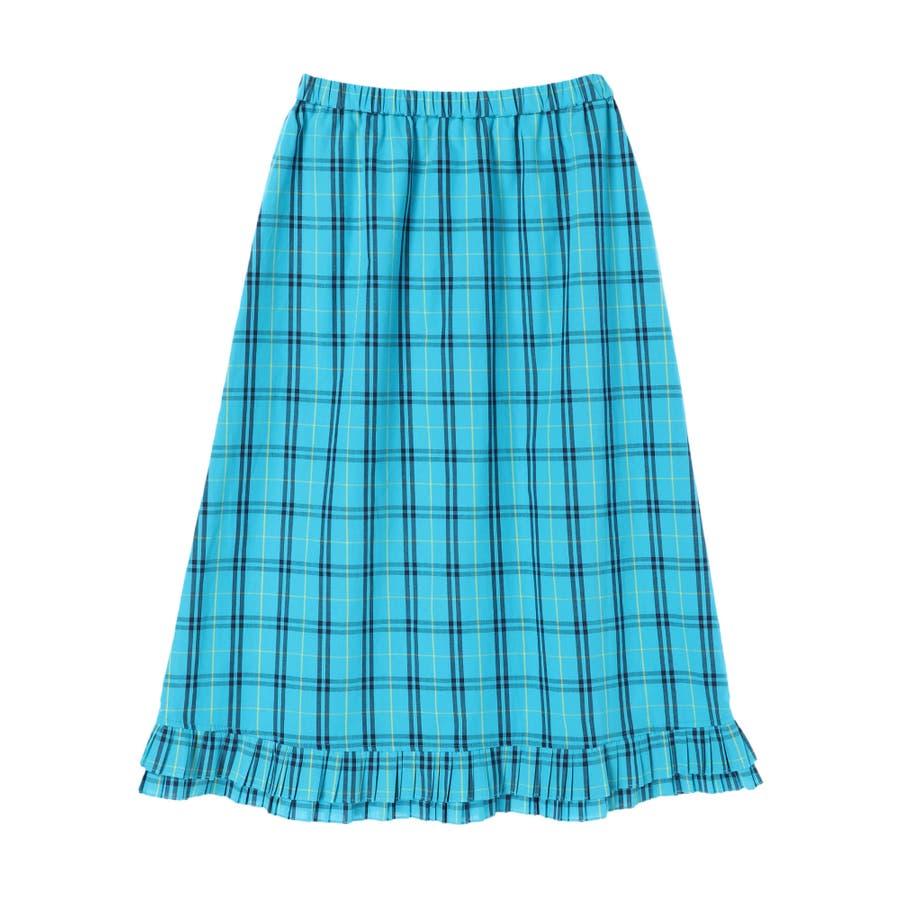 プリーツヘムAラインスカート 59