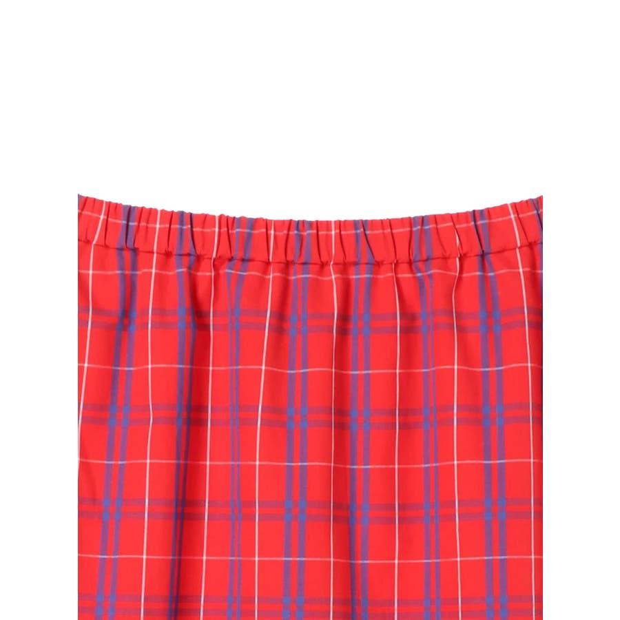 プリーツヘムAラインスカート 8